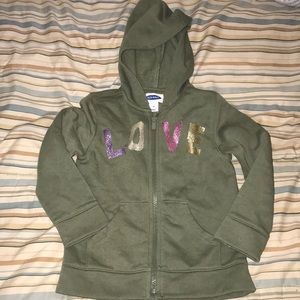 Old navy girls 5T hoodie